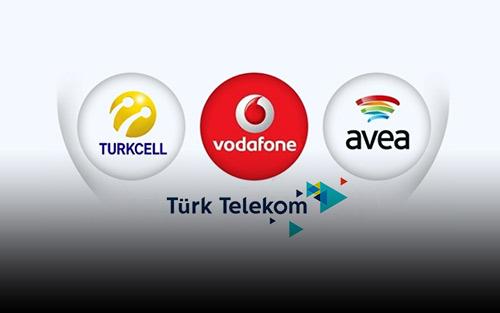 Turkcell Vodafone Avea Türk Telekom